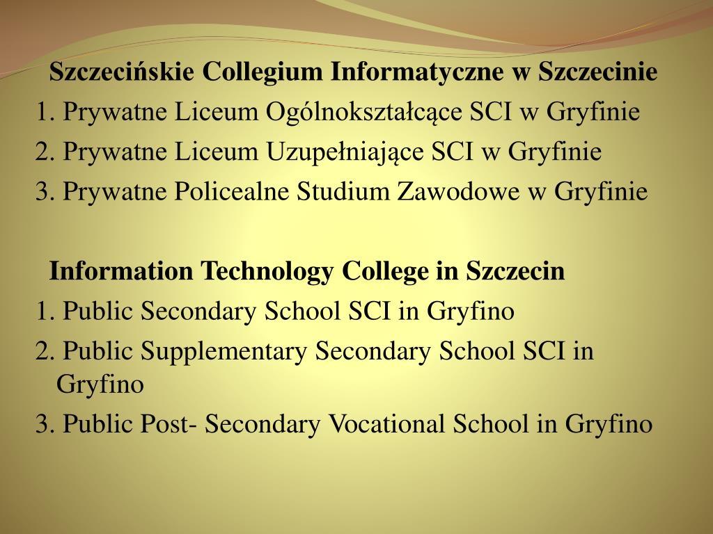 Szczecińskie