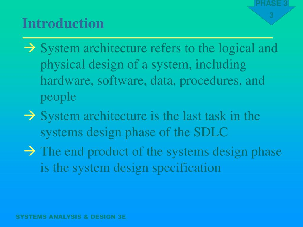 Ppt Systems Analysis Design Powerpoint Presentation Free Download Id 755725