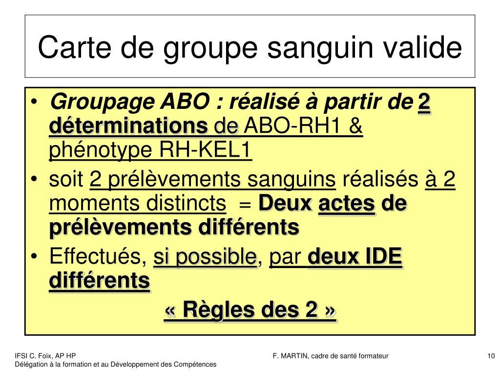 Ppt Transfusion Sanguine 1 Rappels Antigènes