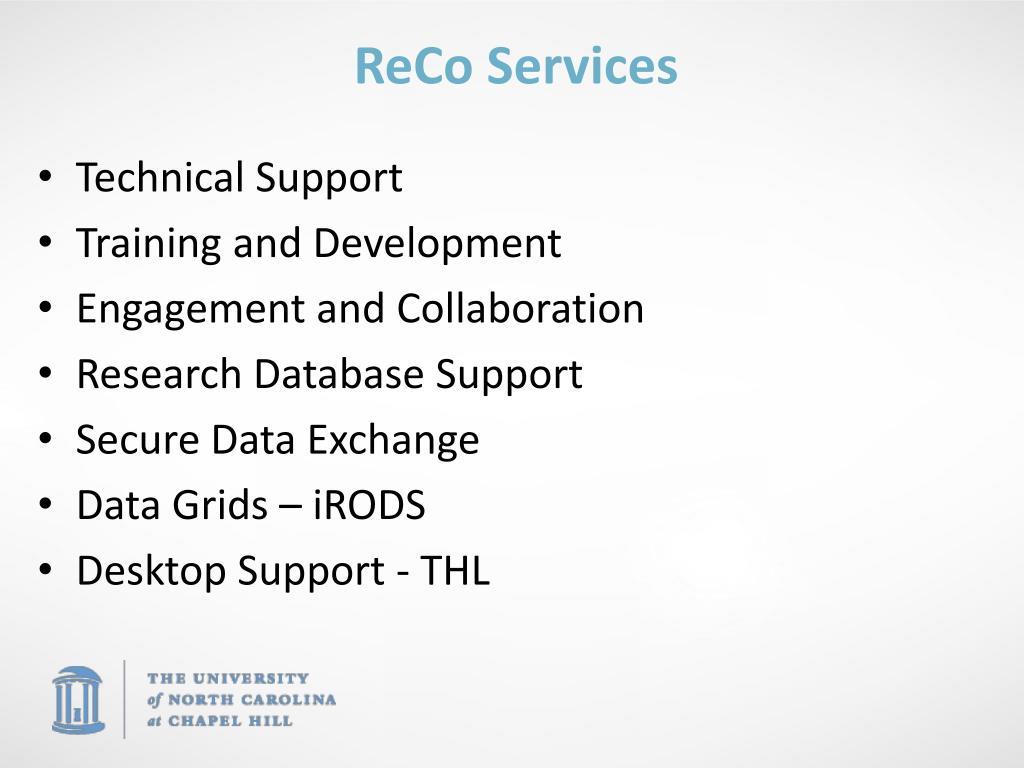 ReCo Services