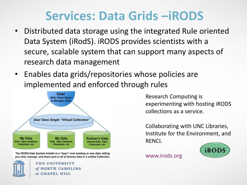 Services: Data Grids –