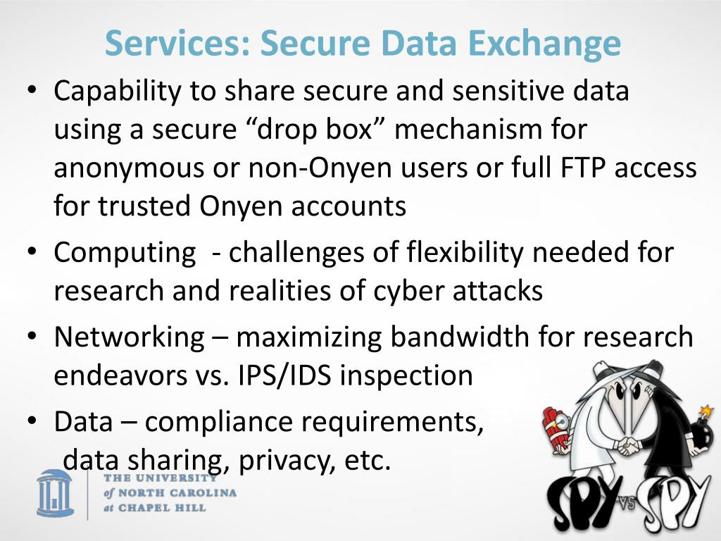Services: Secure Data Exchange