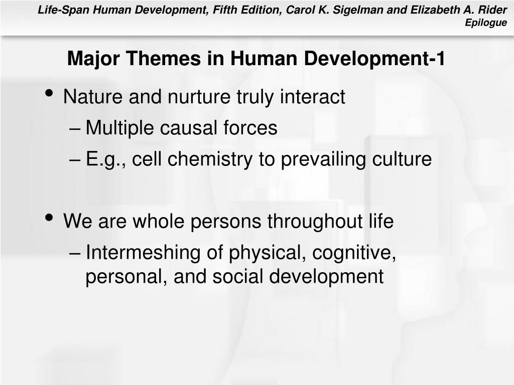 Major Themes in Human Development-1