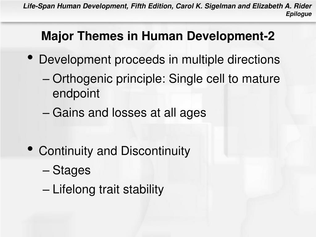 Major Themes in Human Development-2