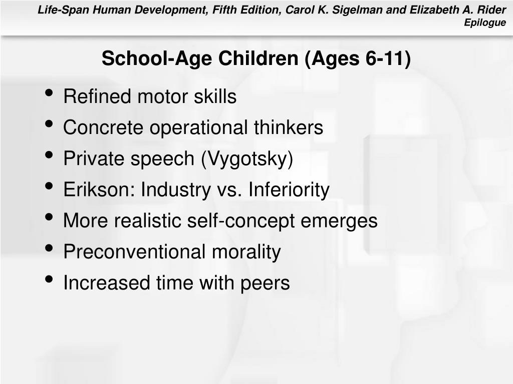 School-Age Children (Ages 6-11)