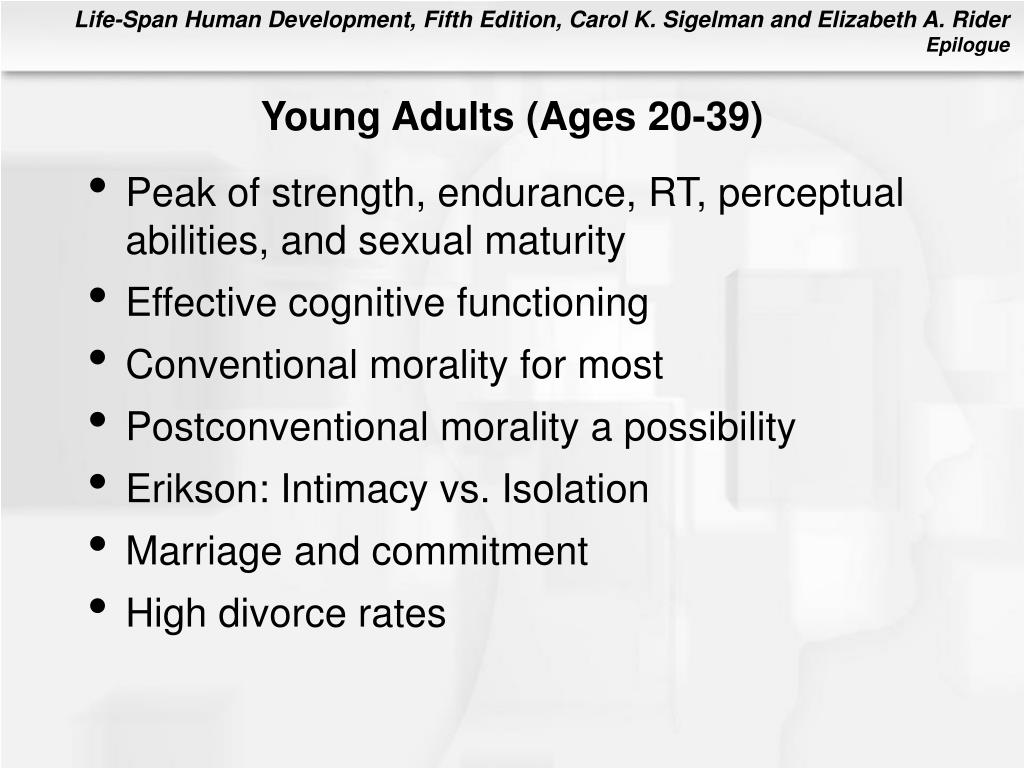 Young Adults (Ages 20-39)