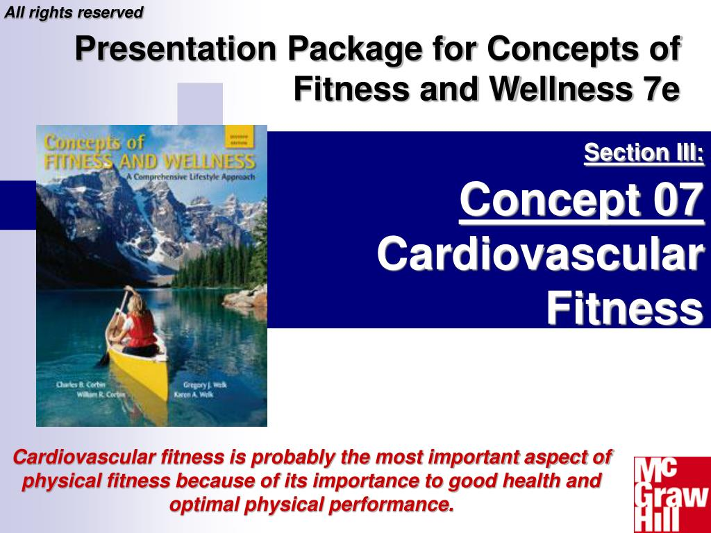 section iii concept 07 cardiovascular fitness l.