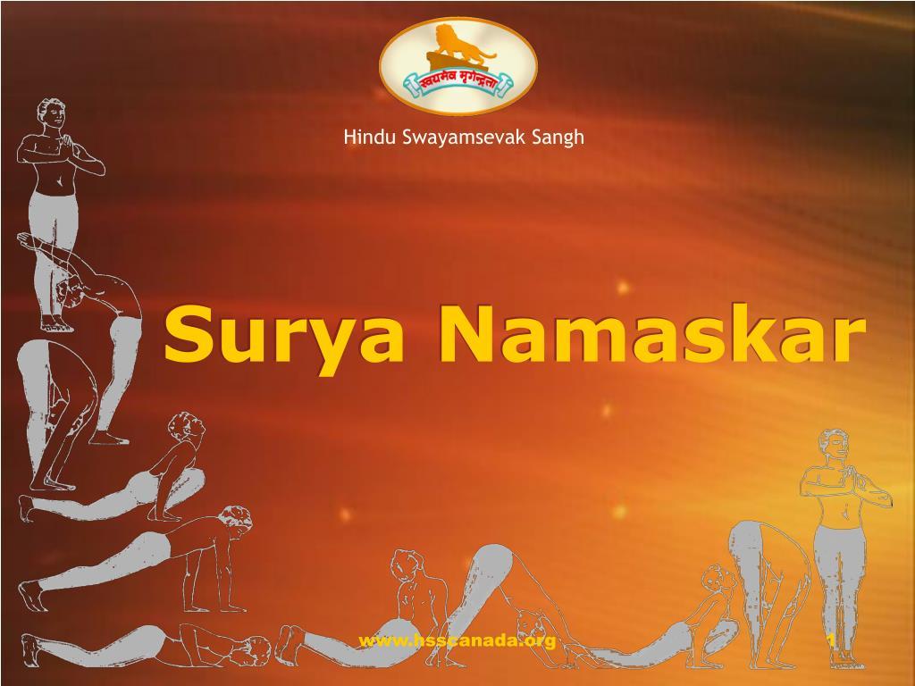 surya namaskar l.