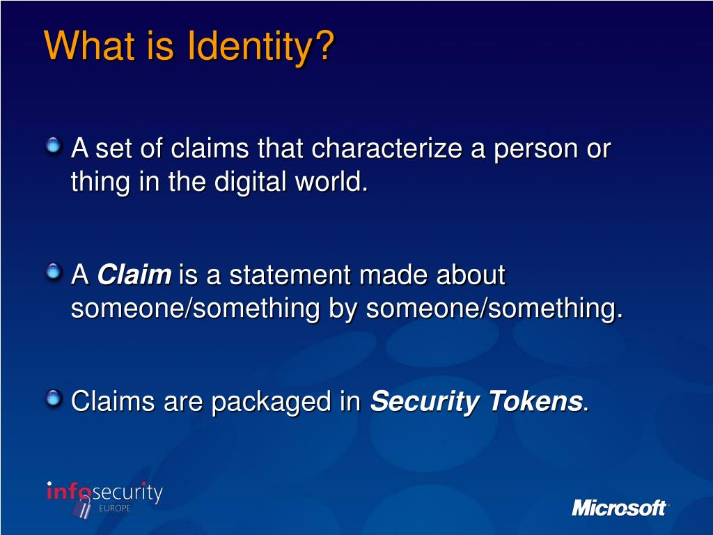 What is Identity?