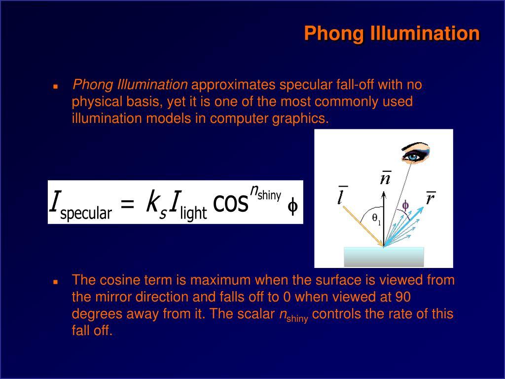 Phong Illumination