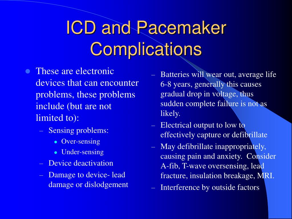 penetrate risk lead Pacemaker surgery