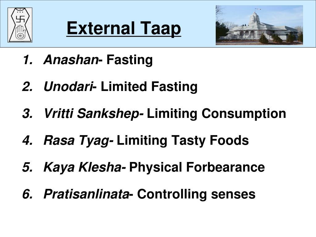 External Taap