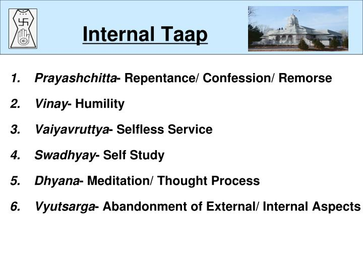 Internal taap