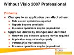 without visio 2007 professional7