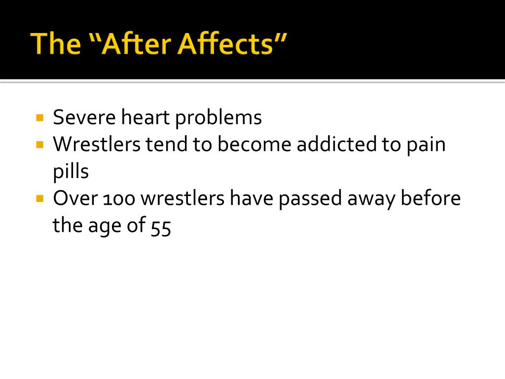 "The ""After Affects"""