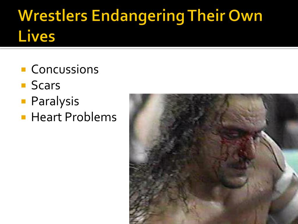Wrestlers Endangering Their Own Lives