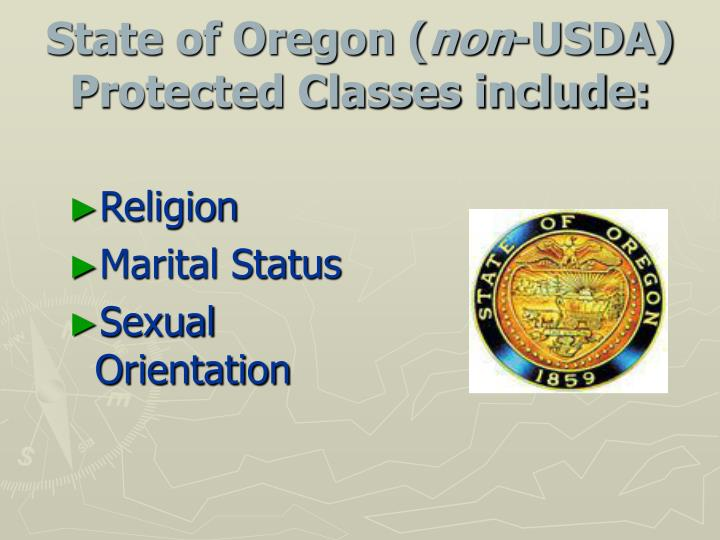 Usda fns protected classes sexual orientation