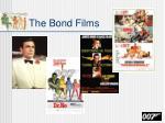 the bond films
