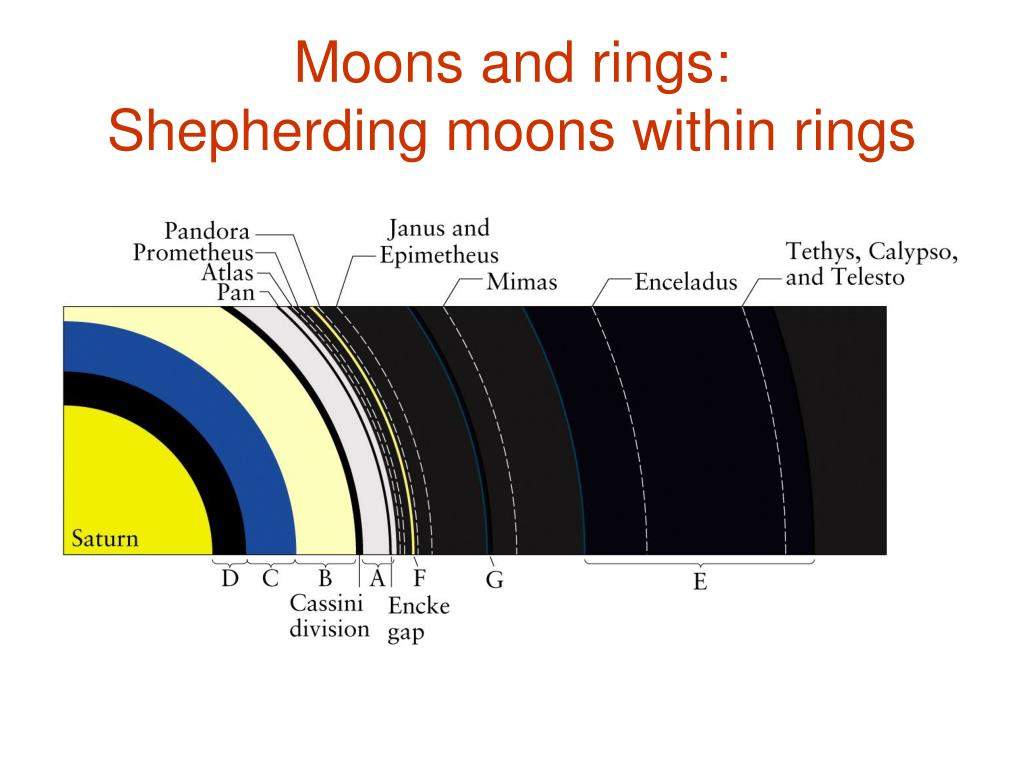 Moons and rings: