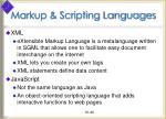 markup scripting languages40