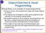 object oriented visual programming36