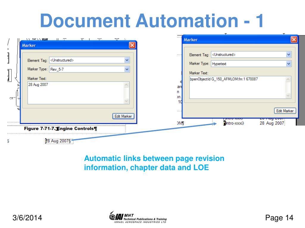 Document Automation - 1