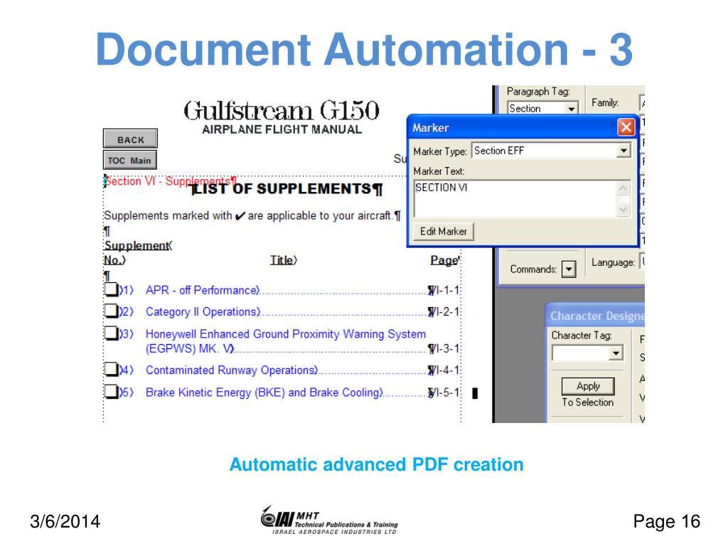 Document Automation - 3