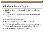 windows search engine