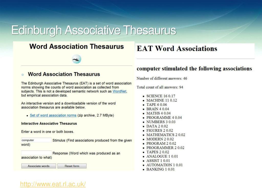 Edinburgh Associative Thesaurus