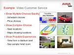 example video customer service