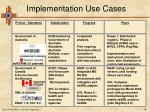 ebxml reg rep implementation use cases16