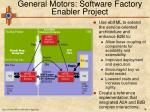 general motors software factory enabler project18