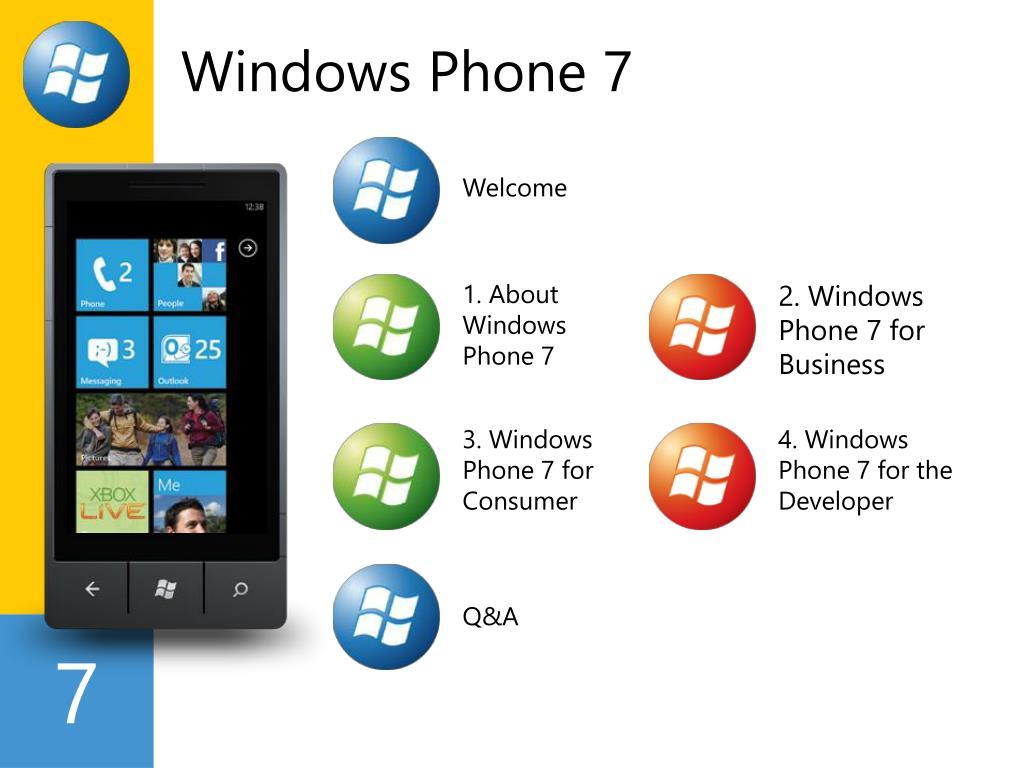 windows phone 7 l.