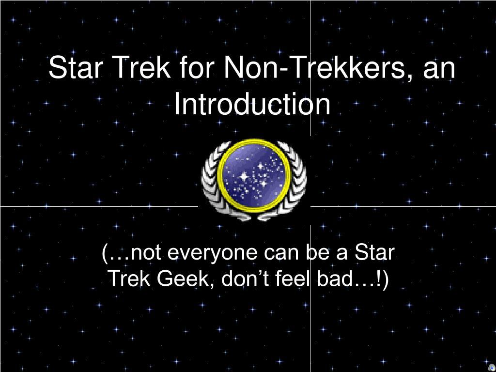 star trek for non trekkers an introduction l.