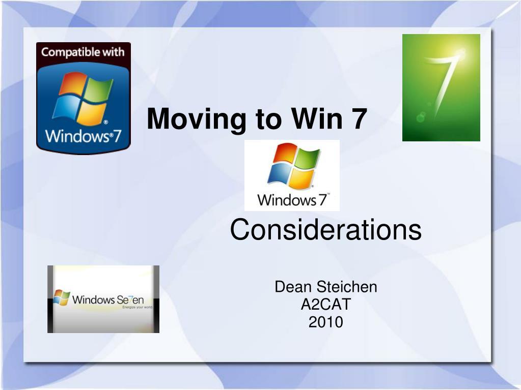considerations dean steichen a2cat 2010 l.