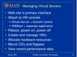 managing virtual servers