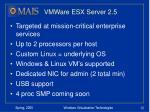 vmware esx server 2 5