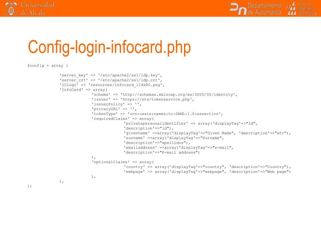Config-login-infocard.php