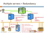 multiple servers redundancy