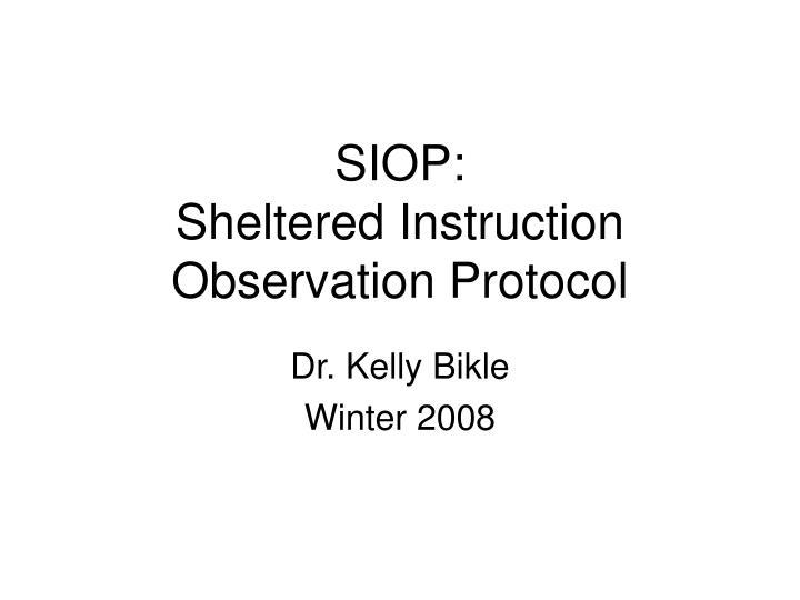 siop sheltered instruction observation protocol n.