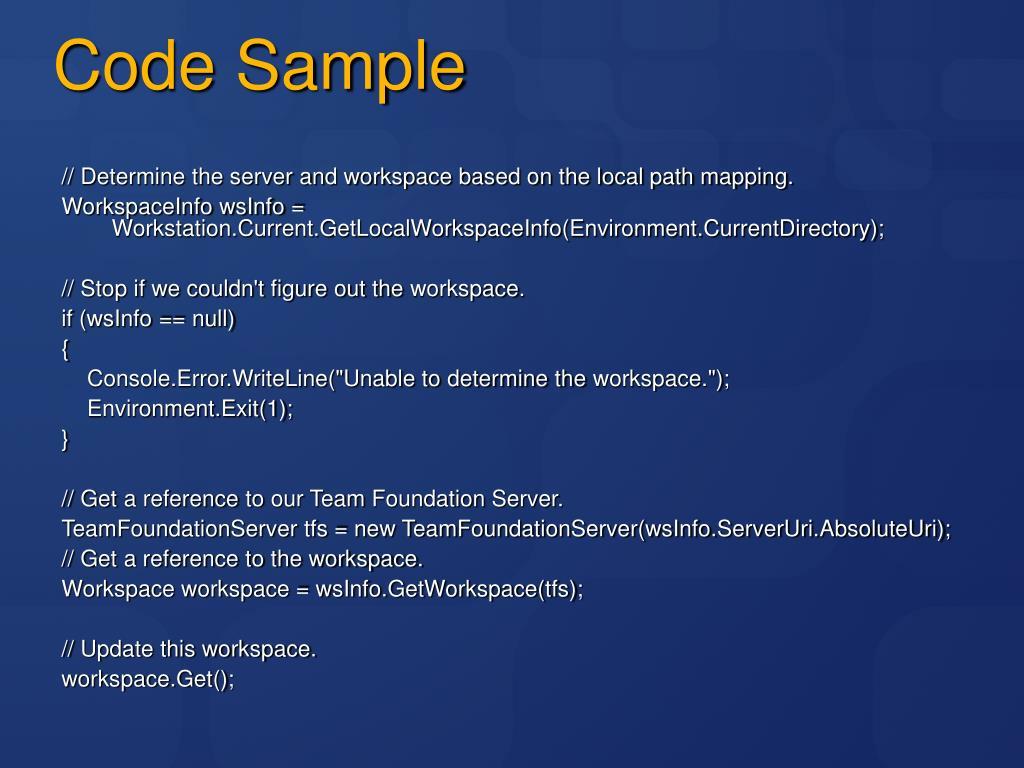 PPT - Microsoft Developer's Guide to Team Foundation Version