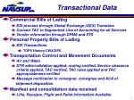 transactional data