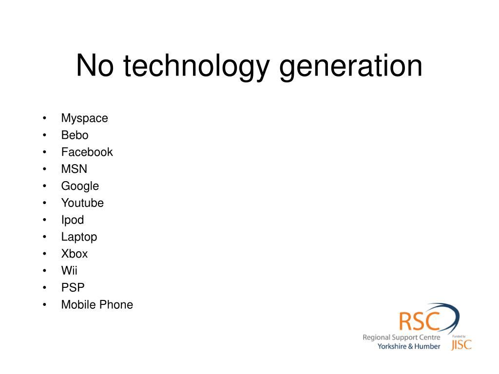 No technology generation