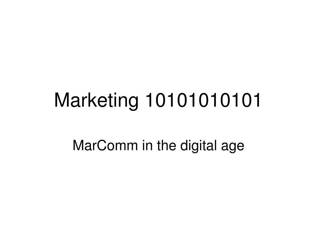 marketing 10101010101 l.