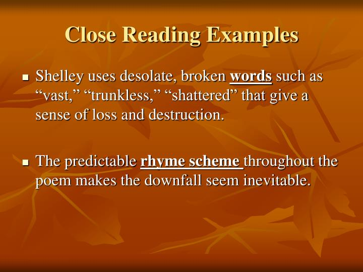 close reading an essay When writing an essay but rather ths class has contribured to my thoughts on why we close read close reading goes beyond picking out important information to.