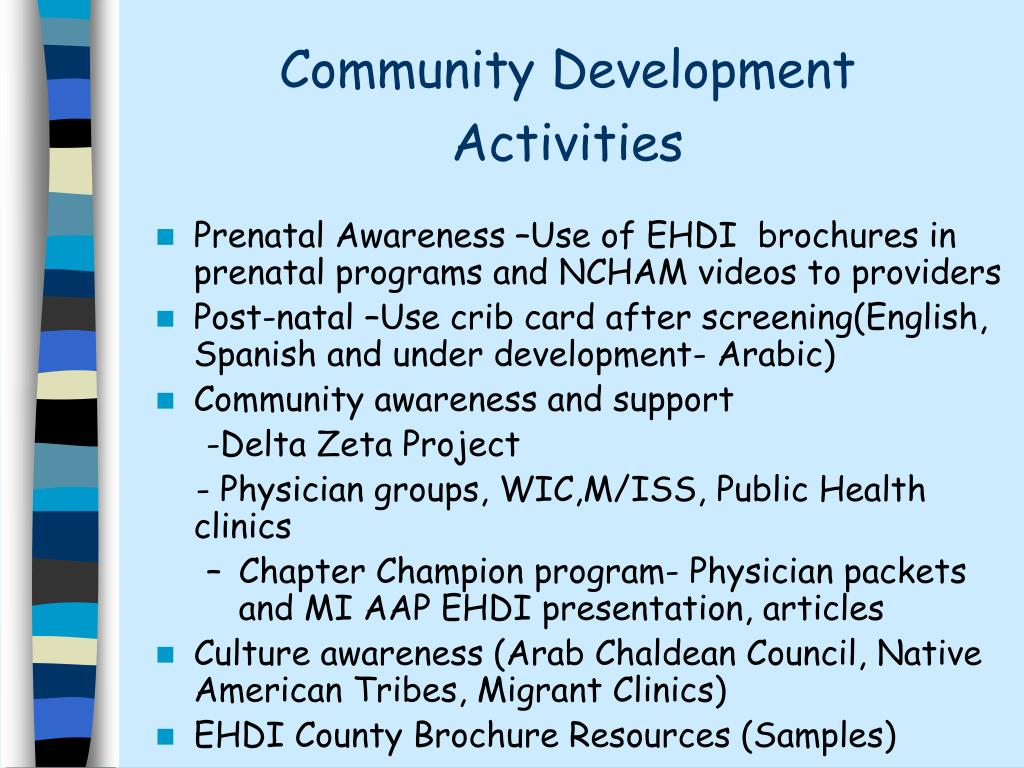 Community Development Activities