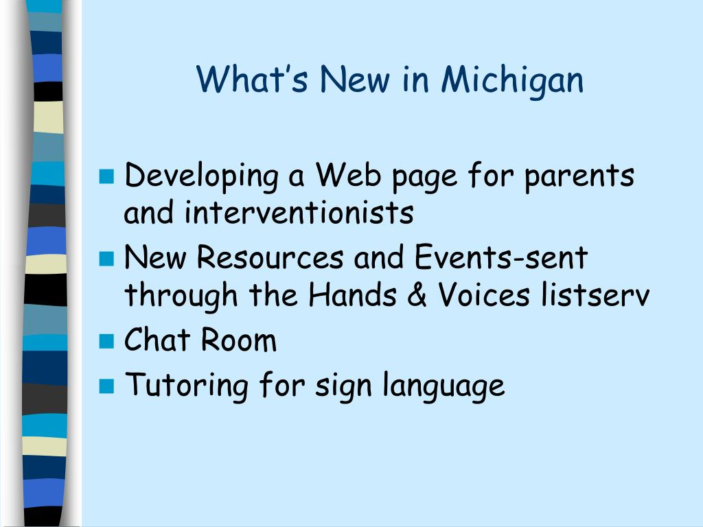 What's New in Michigan