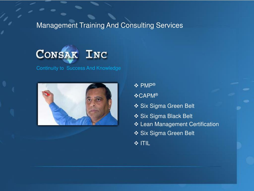 Management Training And Consulting Services