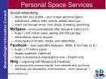 personal space services