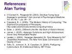 references alan turing
